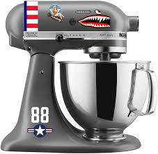 Amazon Com Wwii Flying Tigers Printed Mixer Decal Set Print Kitchen Dining