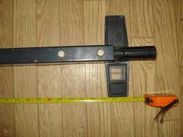 Vintage Craftsman 10 Table Saw Rip Fence Twist And Lock Type For 113 1797960854