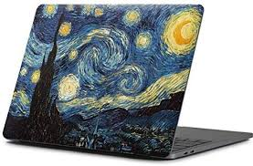 Amazon Com Skinit Decal Laptop Skin Compatible With Macbook Pro 15 Inch 2016 17 Originally Designed Van Gogh The Starry Night Design Electronics