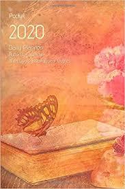 pocket daily planner butterfly calendar goals
