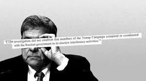 mueller report the full context of the quotes in bill barr s
