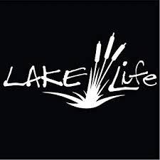 Amazon Com Lake Life Vinyl Decal Sticker Cars Trucks Vans Suvs Walls Cups Laptops 7 Inch Decal White Kcd2779 Automotive