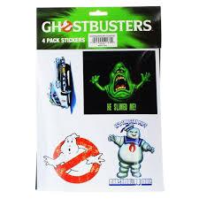Ghostbusters Sticker 4 Pack Walmart Com Walmart Com