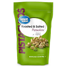 great value roasted salted pistachios