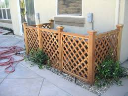 Air Conditioner Fence Home Depot Privacy Home Design Software Backyard Backyard Landscaping Yard Design
