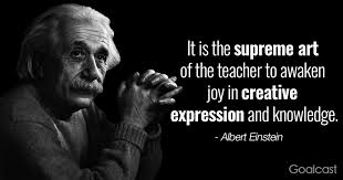 albert einstein quote on teachers goalcast