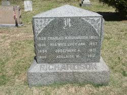 """Adelaide Isabel """"Addie"""" Richardson Corbin (1867-1900) - Find A Grave  Memorial"""