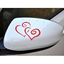 Dog Paw Prints Car Stickers Car Body Stickers Heart Paws Vinyl Graphic Decals