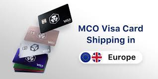 mco visa debit cards to customers in the uk