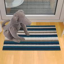 chilewich even stripe rug 2 colors