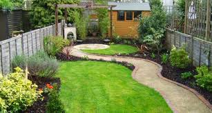 small rectangular garden design