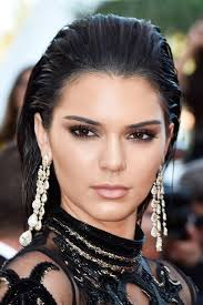 kendall jenner makeup beauty eyes cannes