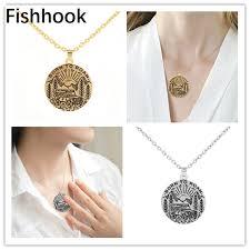 fishhook jewelry camp necklace pendants
