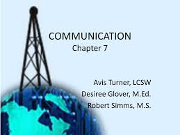 PPT - COMMUNICATION Chapter 7 PowerPoint Presentation, free download -  ID:2107021