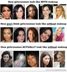 s without makeup