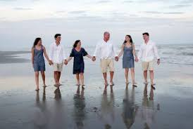 family beach photography session what