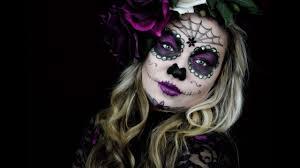 sugar skull makeup you
