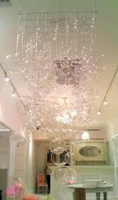 diy bubble chandelier popsugar home