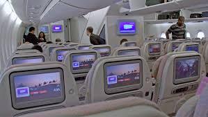 emirates airbus a380 seat map