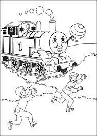 Kids N Fun Kleurplaat Thomas De Trein Thomas De Trein