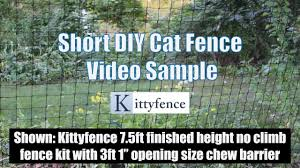 Cat Fence Kittyfence Escape Proof Cat Fences And Cat Fencing