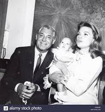 CARY GRANT with Dyan Cannon and daughter Jennifer Grant.Supplied ...