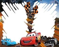 free disney borders cars racing