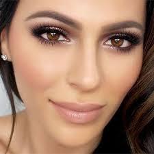 natural makeup look for wedding