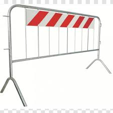 Temporary Fencing Latticework Metal Fence Traffic Barrier Steel Transparent Png