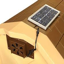doghouse solar fans insulated