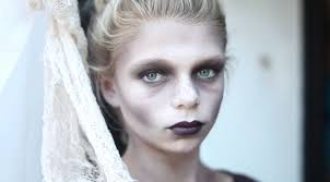 non scary zombie halloween makeup for