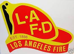 Doublequicktime Lafd Helmet Car Window Decal Los Angeles Fire Department Sticker For Usd6 99 Earn U Los Angeles Fire Department Fire Department Fire Service