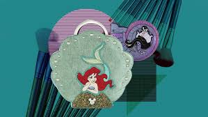 these little mermaid makeup brushes are