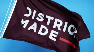 district clothing c m