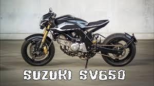 suzuki sv650 cafe racer you