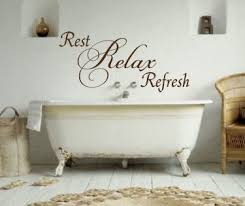 Rest Relax Refresh Wall Decals Trading Phrases