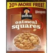 quaker oatmeal squares cinnamon