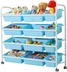 Amazon Com Yadsheng Children S Toy Storage Box Storage Box Storage Chest Kids Room Tidy Toy Box Perfect For Household Storage Toy Chests Organizers Color Blue Size Free Size Home