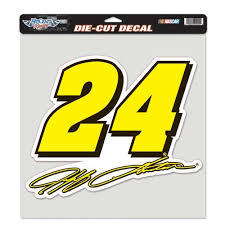 24 Perfect Cut Decal Extra Large 12x12 Decals Jeff Gordon