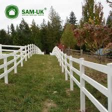 China 16 Ft Three Rail Vinyl Horse Fencing Cost Effective China Vinyl Horse Fencing Vinyl Horse Fence