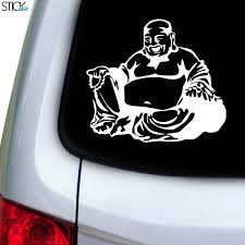 Buddha Fat Decal For Car Window Stickany