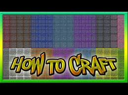 how to make glass in minecraft how