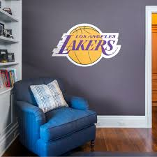 Home Garden Decals Stickers Vinyl Art Los Angeles Lakers Logo Wall Decal Nba Basketball Decor Mural Vinyl Sticker Magnumcap Com