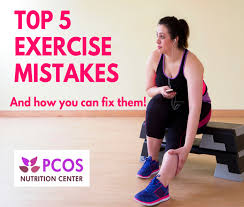 top 5 exercise mistakes women with pcos