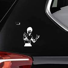 Amazon Com Dkisee Bruce Lee Decal Car Sticker Martial Artist Car Decal 6 Inch Vinyl Decal For Car Bumper Truck Window Walls Laptop Sticker Kitchen Dining