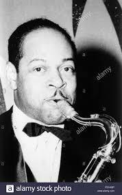 El saxofonista y clarinetista de jazz Coleman Hawkins Stock Photo - Alamy