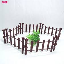 Good 10pcs Farm Animals Fence Toys Military Fence Simulation Model Toy For Children Shopee Philippines