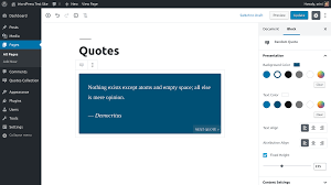 quotes collection plugin org