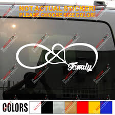 Family Infinity Forever Love Heart Decal Sticker Car Vinyl Pick Size Car Stickers Aliexpress