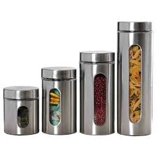 stainless steel canisters webnuggetz com